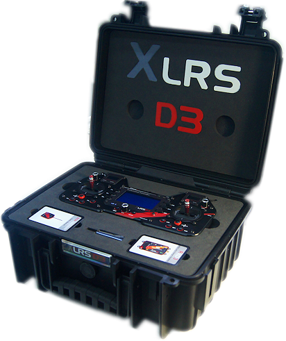 XLRS_D3 | ULTRA LONG RANGE RADIO CONTROL UP TO 200KM