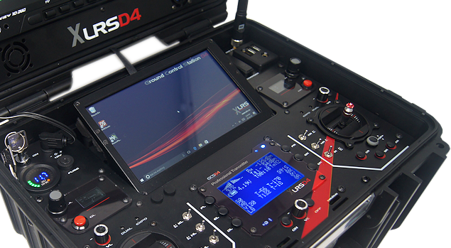 XLRS_D4 | Ground Control Station D4 for FPV & UAV up to 200Km